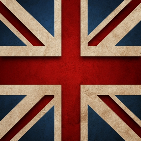 Flag of United Kingdom Grung mural