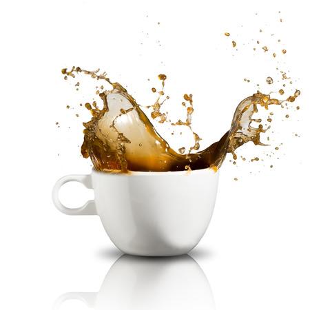 Foto de Coffee Splash - Imagen libre de derechos