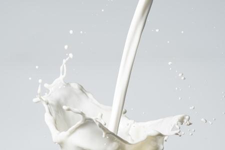 Photo pour Milk Splash - image libre de droit