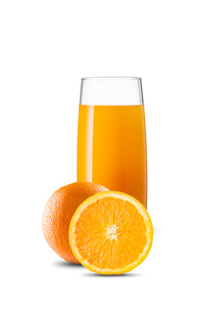Photo pour Glass of Orange Juice - image libre de droit