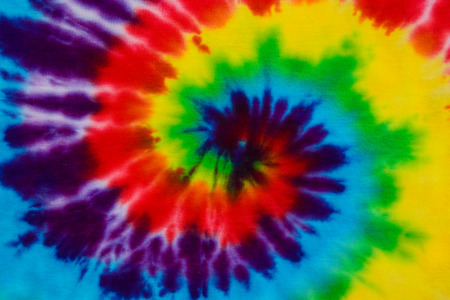 Photo for tie dye fabric background - Royalty Free Image