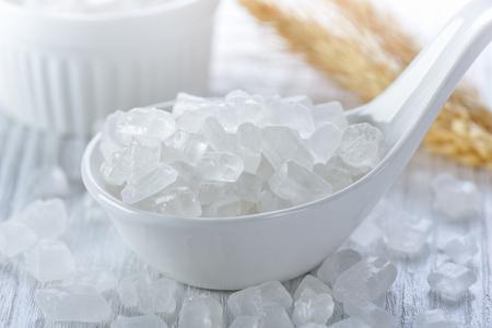 Foto de white rock sugar - Imagen libre de derechos