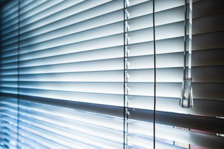Photo pour Windows and blinds with sun rays, Backgrounds - image libre de droit