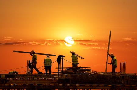 Photo pour Road Construction - image libre de droit
