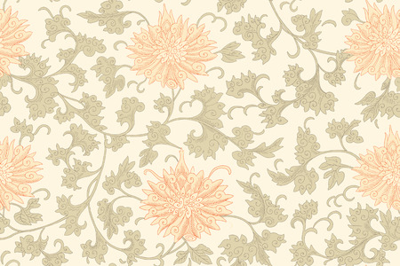 Illustration pour Chinese seamless pattern. Vintage - image libre de droit