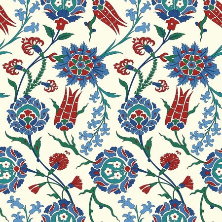 Illustration pour Traditional Arabic ornament, seamless pattern for your design. Vector. Background - image libre de droit