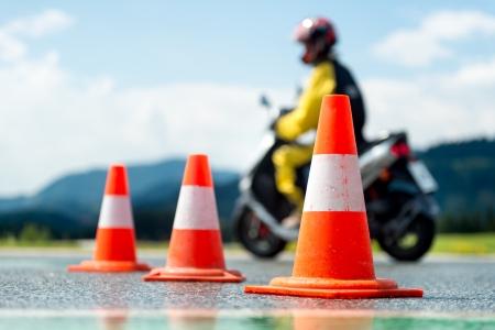 Motorcycle training school