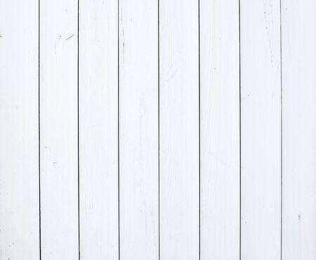 Foto de Old rustic white painted wooden texture or background - Imagen libre de derechos