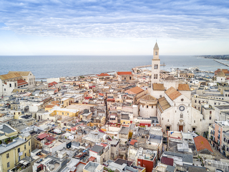 Foto de Panoramic view of old town in Bari, Puglia, Italy - Imagen libre de derechos