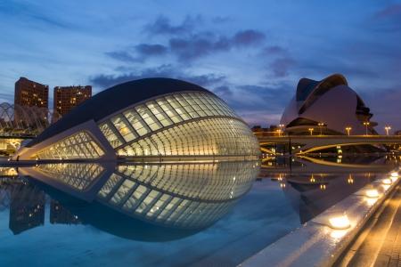 Foto de The City of Arts and Sciences - Valencia - Imagen libre de derechos