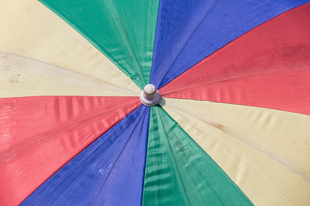 Colorful of umbrella pattern .