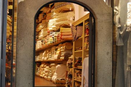 Foto de italian fabric story - Imagen libre de derechos