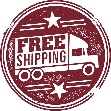 Free Shipping Promotion Graphic