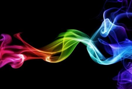 Photo pour Colorful smoke - image libre de droit