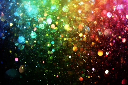 Foto de Rainbow of lights - Imagen libre de derechos
