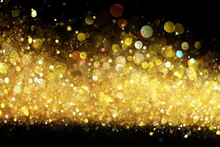 Photo for Gold glitter - Royalty Free Image