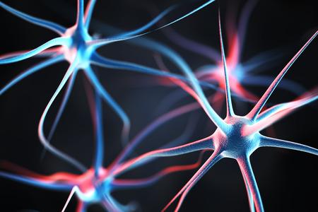 Foto de Neurons in the brain - Imagen libre de derechos