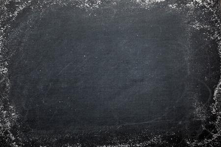 Photo pour Blank chalkboard - image libre de droit