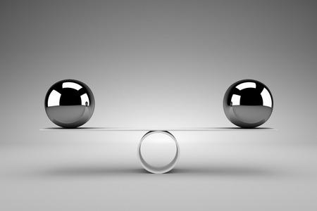 Photo pour Balance concept - image libre de droit
