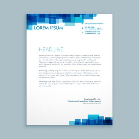 Illustration pour abstract coporate business letterhead - image libre de droit