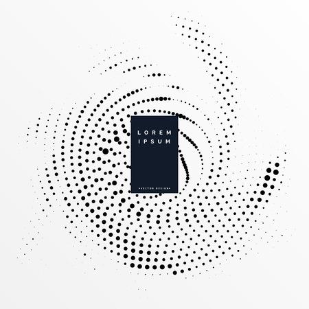 Ilustración de Abstract halftone grunge background design - Imagen libre de derechos