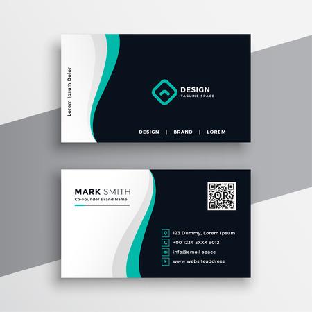 Illustration pour creative company visitng card design - image libre de droit