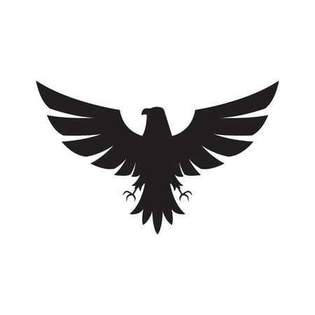 Illustrazione per Illustration  of eagle Icon isolated on a white background - Immagini Royalty Free