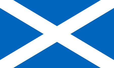 Illustrazione per Flag of the Scotland. Vector illustration EPS10 - Immagini Royalty Free
