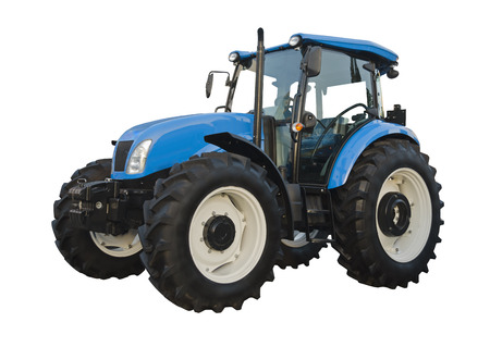 Photo for Agricultural tractor - Royalty Free Image