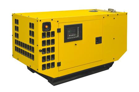 Photo pour Big generator on a white background - image libre de droit