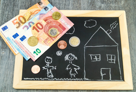 Photo for Housing Child benefit - Royalty Free Image