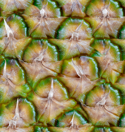 Photo for Seamless pattern made from colorful peel pineapple. background texture - Royalty Free Image