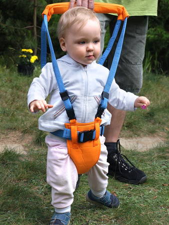 Walking exercises with Toddler Safety Harness
