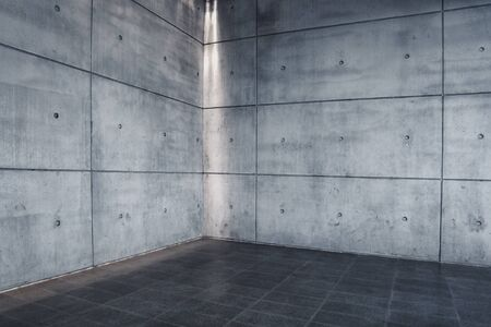 Foto de Urban Concrete , Modern Empty Interior Space as Backdrop - Imagen libre de derechos
