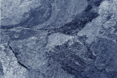 Photo for Closeup of blue tone slate floor - Royalty Free Image