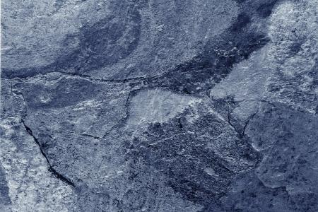 Foto de Closeup of blue tone slate floor - Imagen libre de derechos