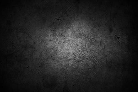 Foto de Dark grunge textured wall closeup - Imagen libre de derechos
