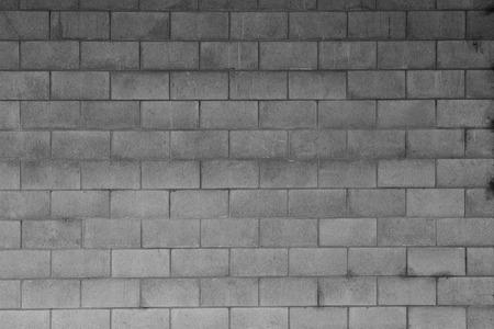 Photo pour Closeup of grey block wall - image libre de droit