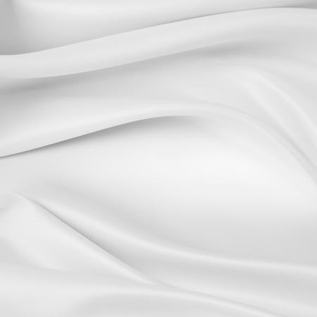 Foto de Closeup of rippled silk fabric - Imagen libre de derechos