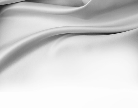 Photo pour Closeup of rippled silk fabric - image libre de droit