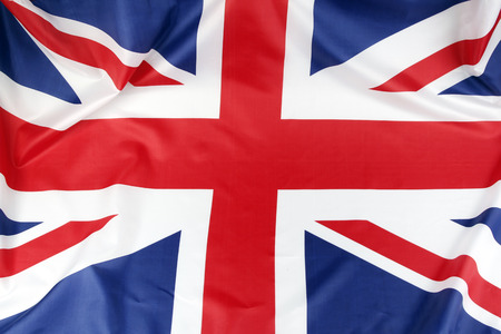 Foto de Closeup of Union Jack flag - Imagen libre de derechos