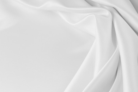 Photo for Closeup of rippled silk fabric - Royalty Free Image