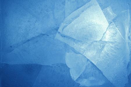 Foto de Closeup of blue ice background - Imagen libre de derechos