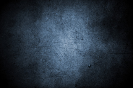 Photo pour Closeup of blue grunge wall - image libre de droit