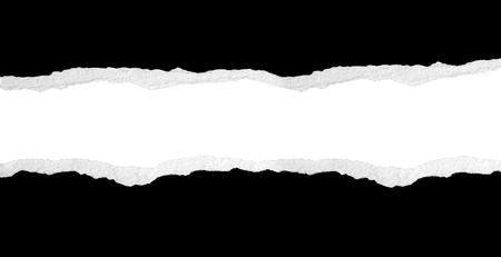 Foto de Ripped paper, space for copy - Imagen libre de derechos