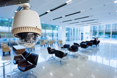 Foto für CCTV or surveillance operating in office building - Lizenzfreies Bild