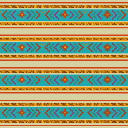 Illustration pour Background of  maya culture and mexican landmark theme Vector illustration - image libre de droit