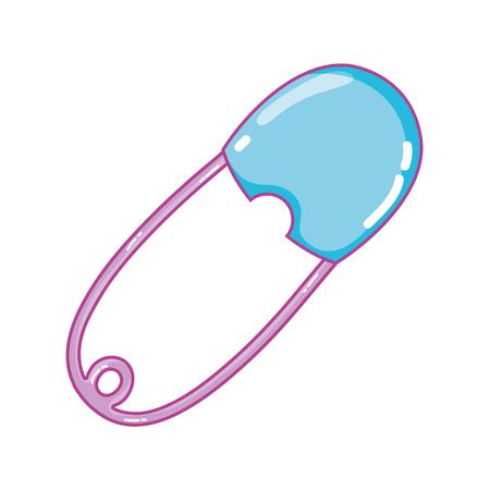 Illustration pour Baby diaper hook accessory protect - image libre de droit