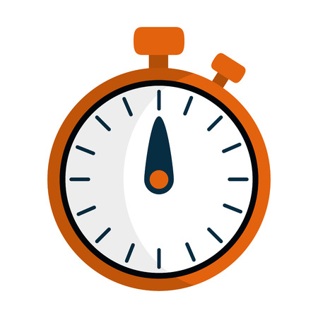 Illustration for timer clock stopwatch icon isolated vector illustration graphic design - Royalty Free Image