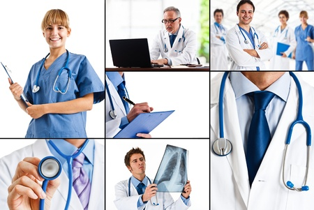 Composition of healthcare and medical images
